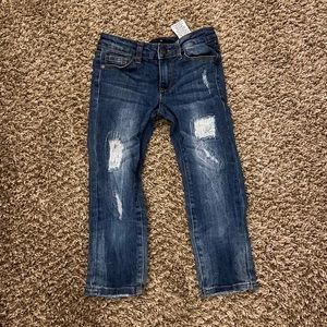 Joes jeans skinny distressed kids bottoms 7